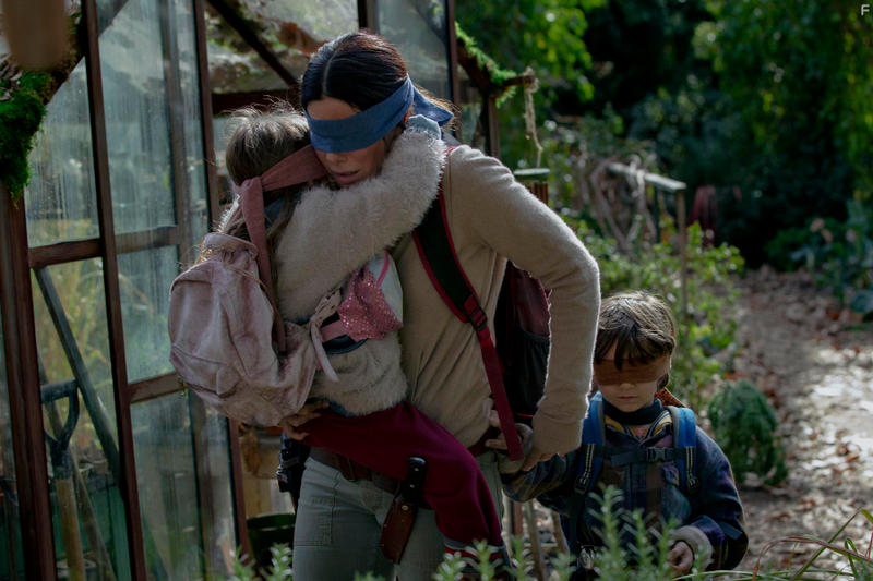A Look at The 'Bird Box' Monsters Netflix malorie tom horror films machine gun kelly