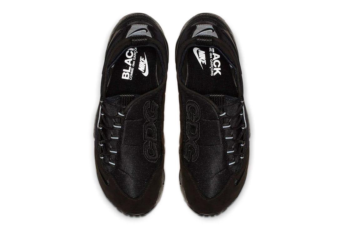 BLACK CDG x Nike Footscape Motion
