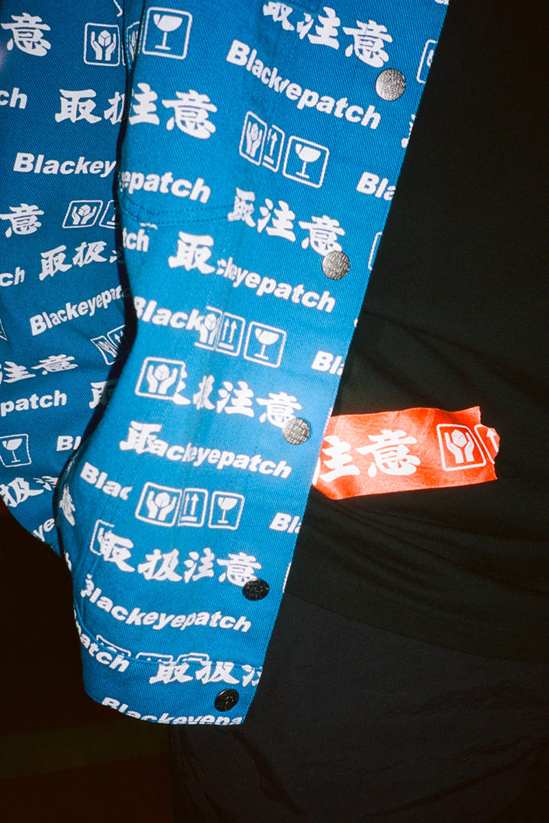 BlackEyePatch Spring Summer 2019 Collection Lookbook Jacket Sweater Hoodie T shirt Sweatpants pants track suit socks slides