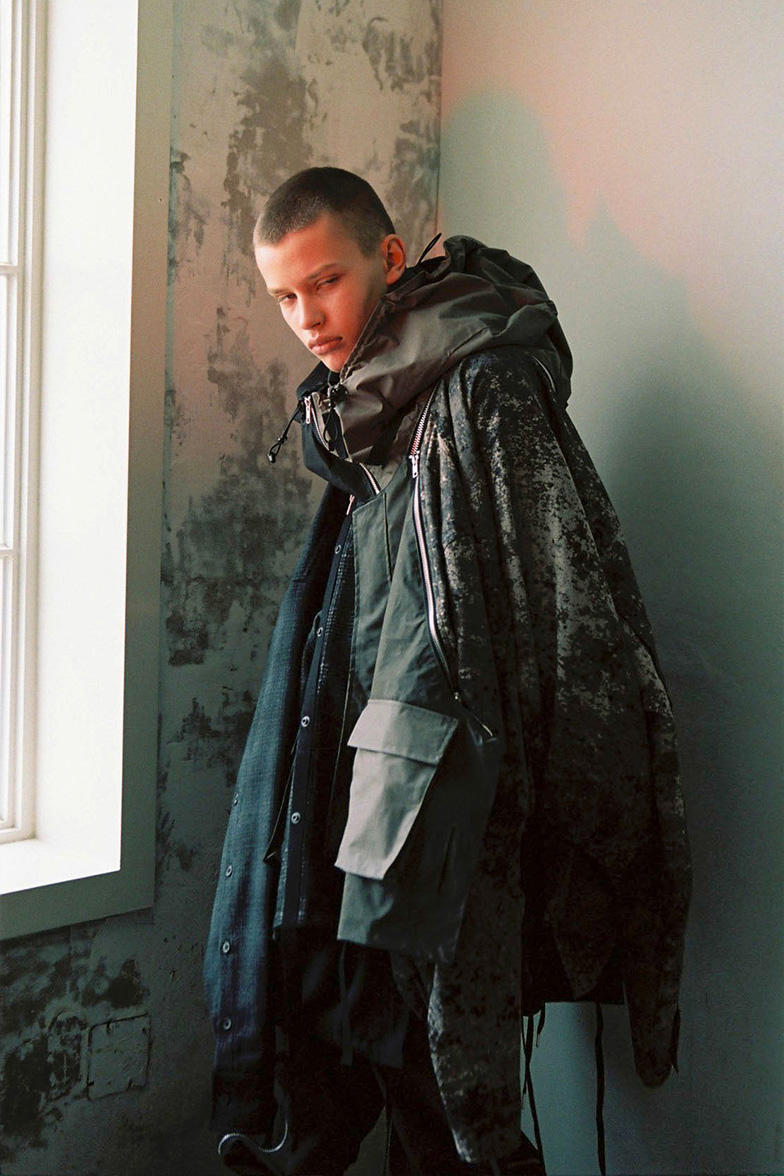 BLACKMERLE Fall/Winter 2019 collection lookbook technical maximalism techwear terry shin lookbooks editorials