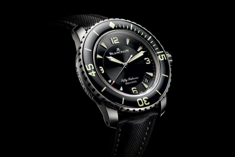 Blancpain Releases its Iconic Fifty Fathoms Watch in Titanium