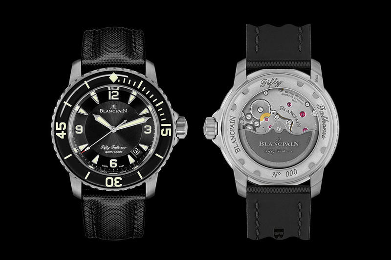 Blancpain Titanium Fifty Fathoms Watch