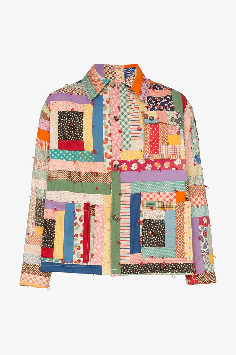 Bode Browns fashion spring summer 2019 ss19 Patchwork Layering Pieces jacket shirts vintage buy release date info exclusive