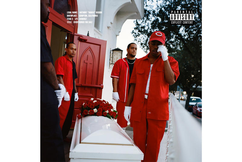 Boogie 'Everythings for Sale' Album Stream shady records hip-hop spotify itunes music rap vocals melody jid 6lack release snoh aalega christian scott