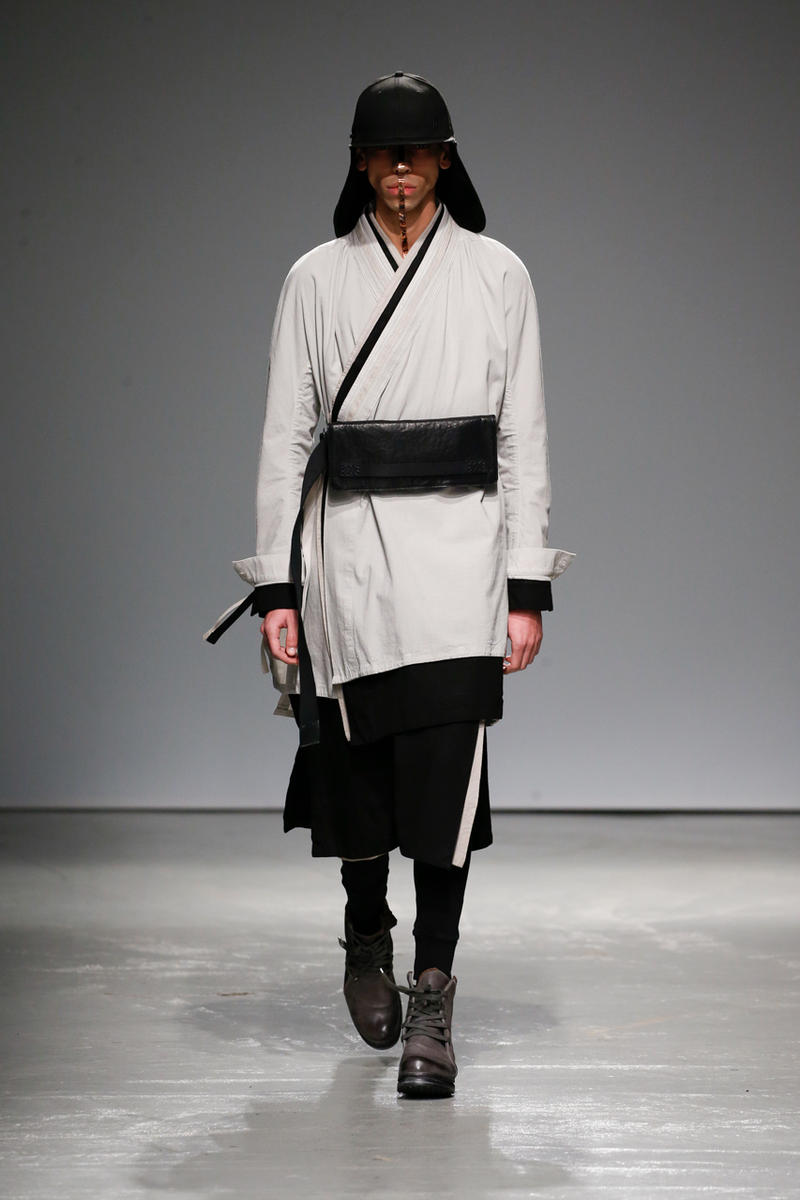 Boris Bidjan Saberi Fall Winter 2019 Runway collection paris fashion week mens