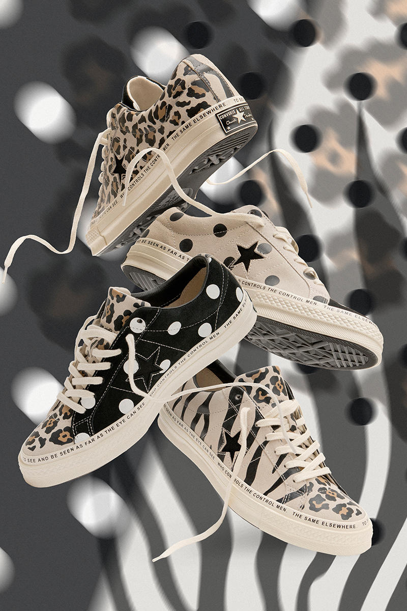 5c3a680ca6c3 Brain Dead x Converse One Star Spring Summer 2019 First Look Release  Details Animal Print