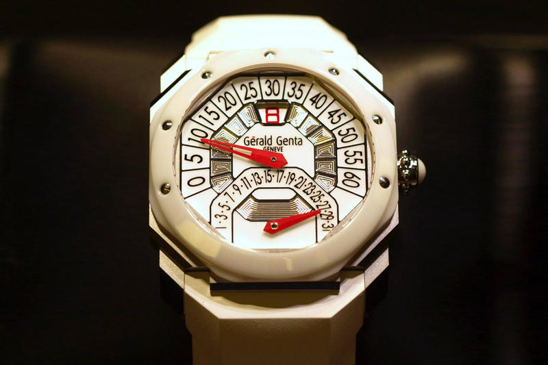Gerald Genta 50th Anniversary Watch Info bulgari fashion watches jewellery
