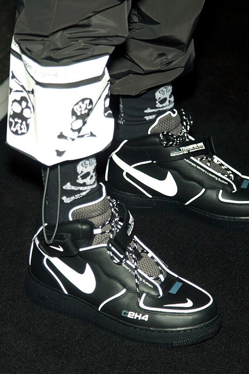 6efff0be35f5 C2H4 Fall Winter 2019 mastermind JAPAN Collaboration Reveal Runway  Presentation Show Nike Air Force 1 London
