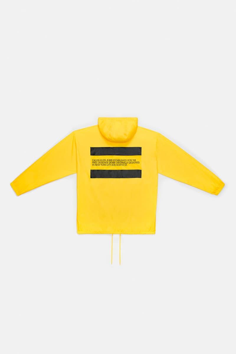 CALVIN KLEIN JEANS EST. 1978 Season two Collection drop release date info buy january 15 2019 picture print denim jacket tee shirt outerwear coat parka bag wallet hat pants