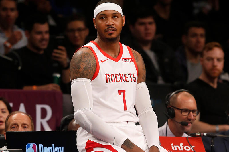 Carmelo Anthony Is Headed to the Chicago Bulls basketball nba Houston Rockets trade