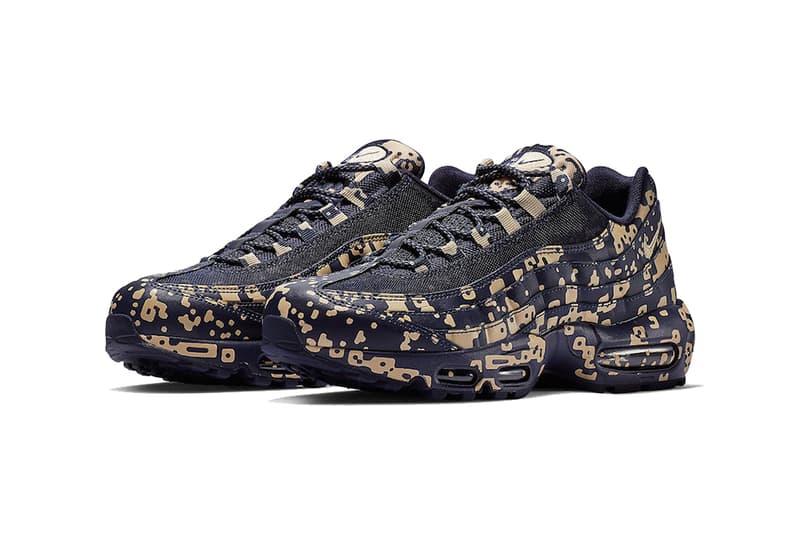 cav empt nike air max 95 footwear nike sportswear 2019 january blackened blue white