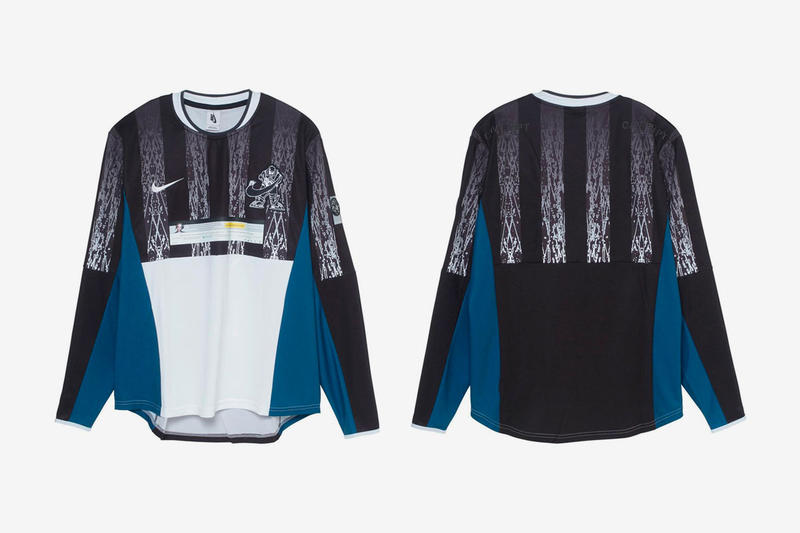 Cav Empt Nike Capsule Full Look Sk8thing Toby Feltwell Air Max 95 track suit jersey cap vest White Black Blue Beige