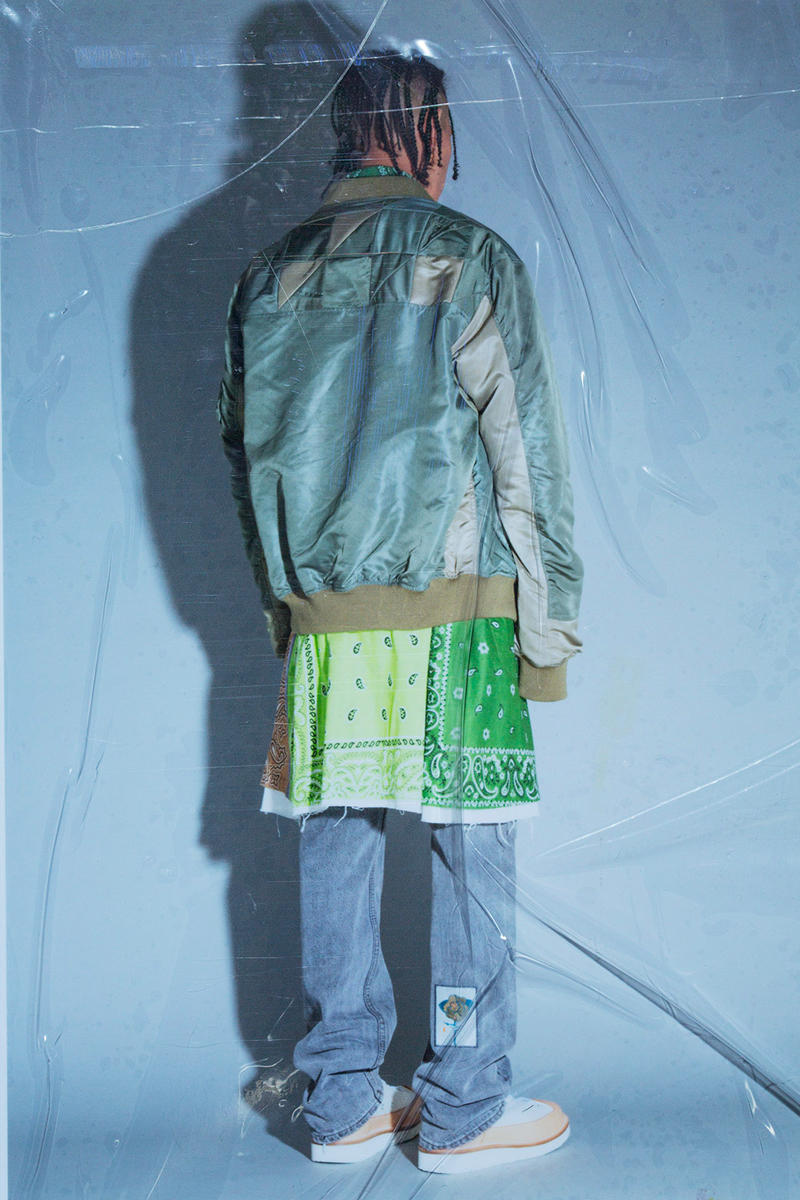 Children of the Discordance SS19 Lookbook spring/summer info joy division the chemical brothers patchwork ma-1 bomber trench coat trousers collection