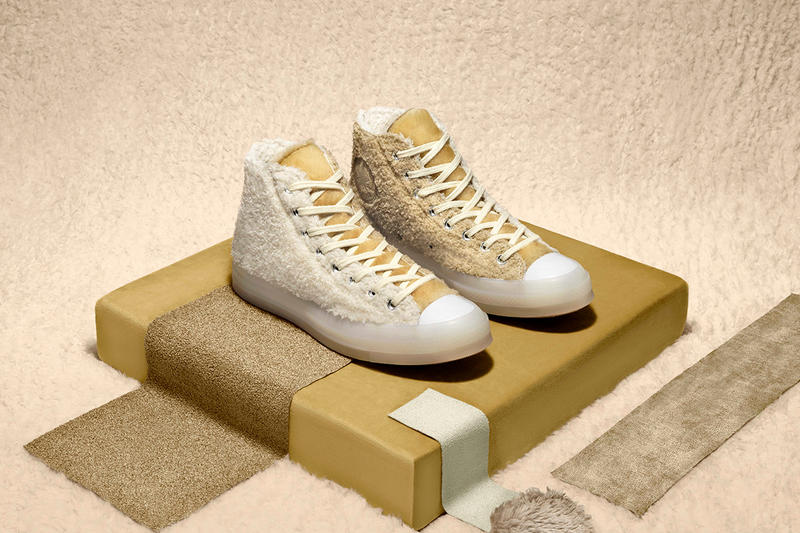 7d6e4beb1ff456 CLOT Converse Chuck Taylor 70 Jack Purcell Sneaker North Pole Spring Summer  2019 Furry Zip