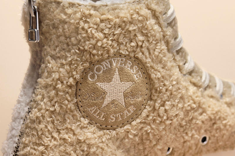 CLOT Converse Chuck Taylor 70 Jack Purcell Sneaker North Pole Spring/Summer 2019 Furry Zip Release Details First Look Closer Look