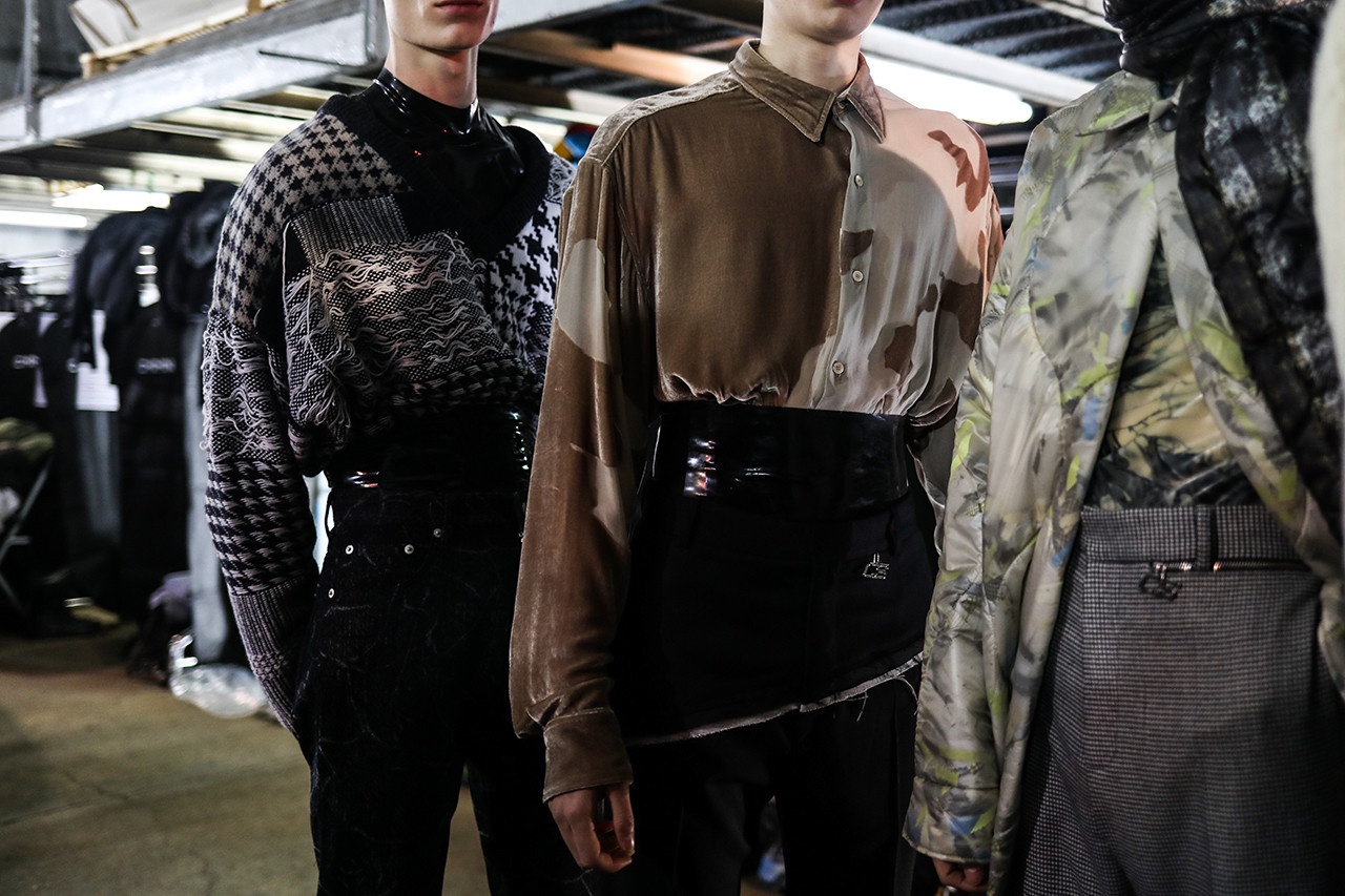 CMMN SWDN Saif Bakir Emma Hedlund Creative Process Design Paris Fashion Week Fall/Winter 2019 First Look Backstage Studio Visit London Malmo Sweden