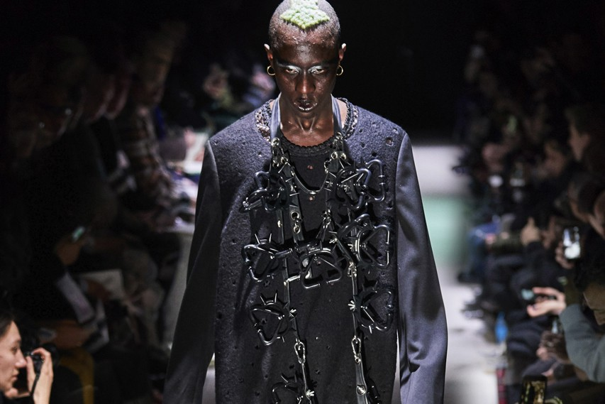 COMME des GARÇONS HOMME Plus Collaborated With Jordan Brand for FW19 Runway Show
