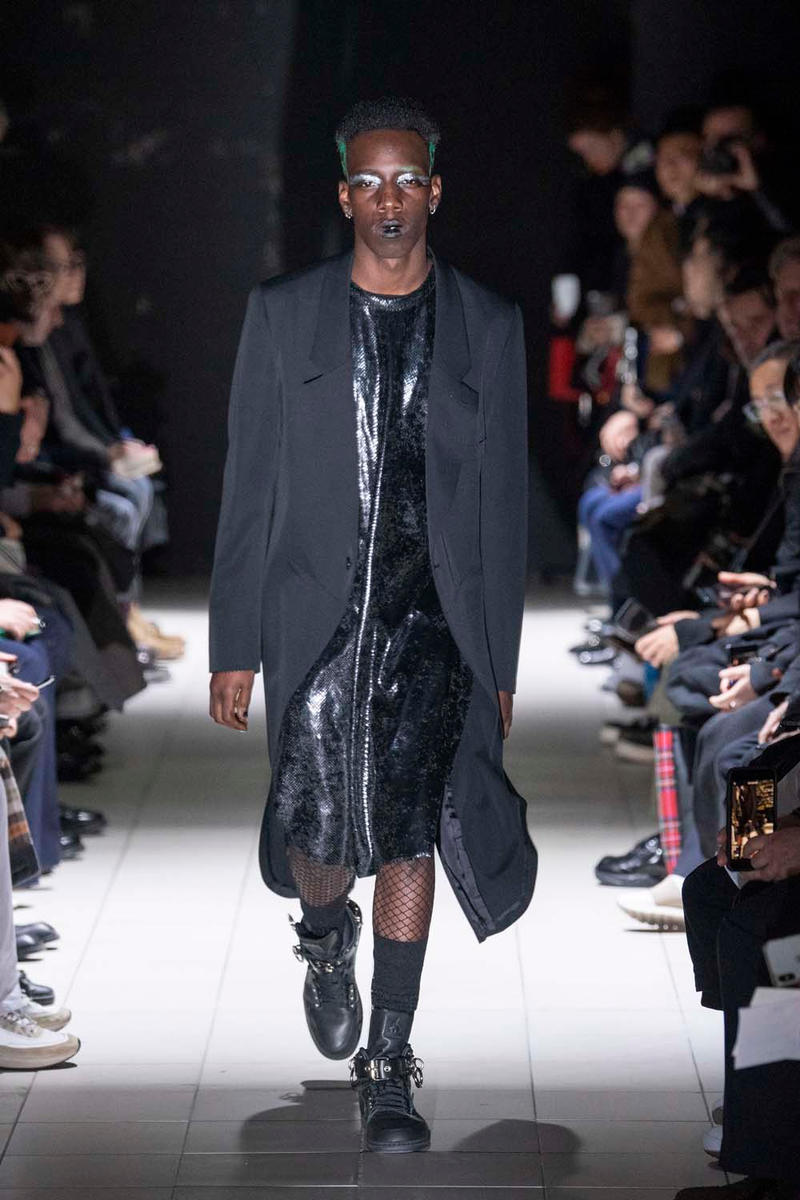COMME des GARÇONS HOMME Plus fall winter 2019 Runway Show collection paris fashion week mens rei kawakubo nike collaboration george cox creeper jordan brand dunk