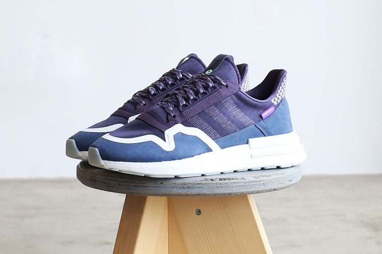 hot sale online 59bf0 5433a Commonwealth Unveils Purple-Hued adidas ZX 500 RM