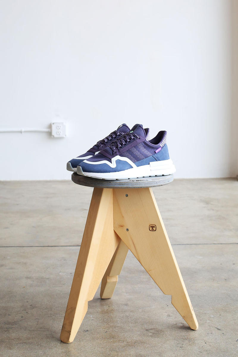 super popular 93918 49da8 commonwealth adidas zx 500 RM fnf friends family release adidas originals  purple