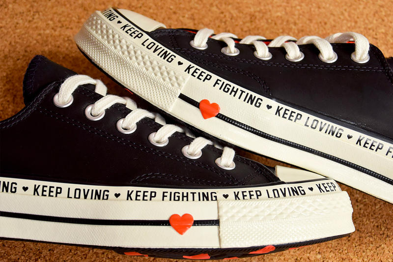Converse Celebrates Valentine's Day With Heart-Filled Chuck 70 Low black white red orange cream info drop release date price images nike footwear