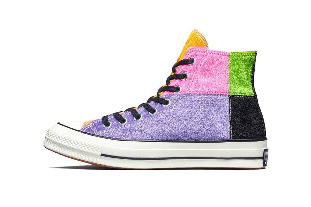 Converse Chuck 70 Furry Multicolor