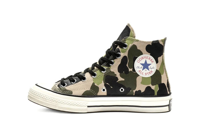 Converse Chuck 70 Print High Top Camouflage Leopard Zebra Pack Brain Dead Collaboration General Release Kyle NG