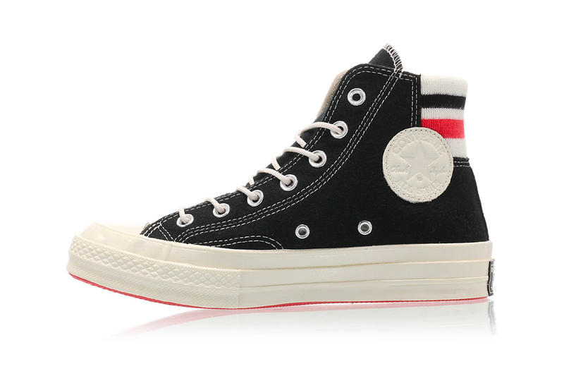 New Converse Chuck Taylor 70 With Retro Basketball Feels black white footwear high top sneakers drop release date price images