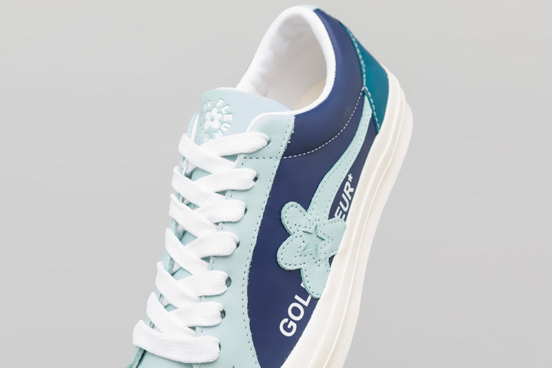 Converse GOLF le FLEUR* Industrial Another Look blue white light black tyler the creator release info date Barely Blue Patriot