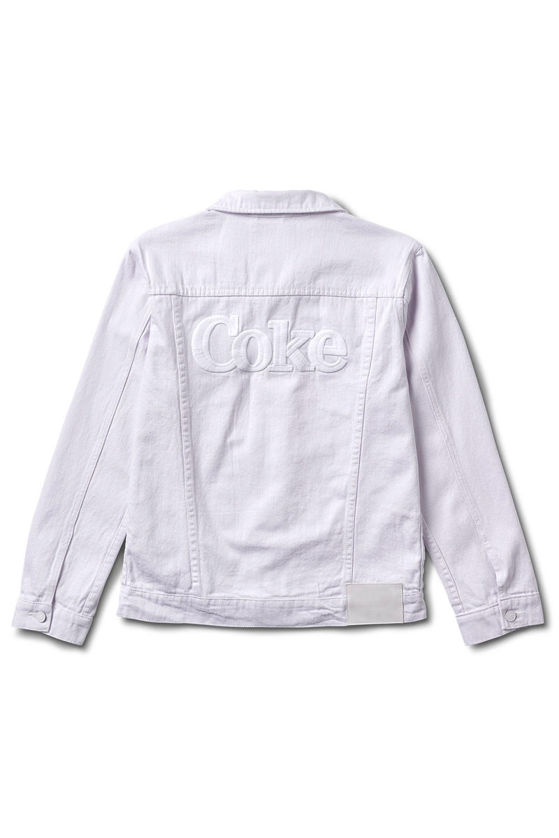 Diamond Supply Co Coca Cola Nike Air Force 1 Coke White Collection denim jacket hoodie t shirt skate deck socks pants Nicky Release Info Date