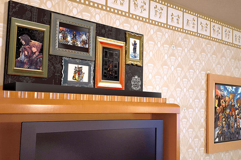 Disneyland Tokyo Kingdom Hearts Hotel Room mickey mouse games square enix japan travel disney gaming