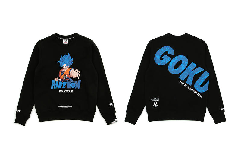Dragon Ball Super Broly X Aape Capsule Release Hypebeast
