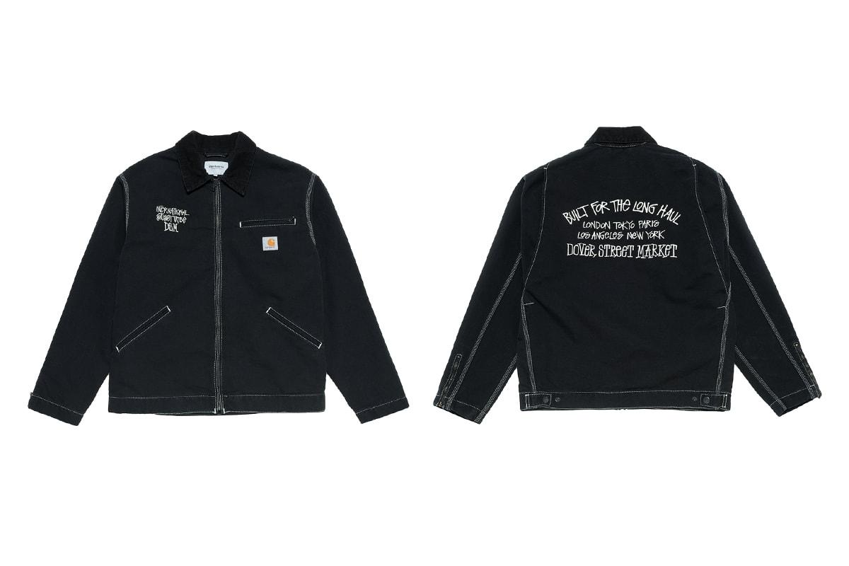 107303ab0938a Dover Street Market los Angeles Stussy Carhartt WIP Tommy Boy Jacket  Release Date info Detroit
