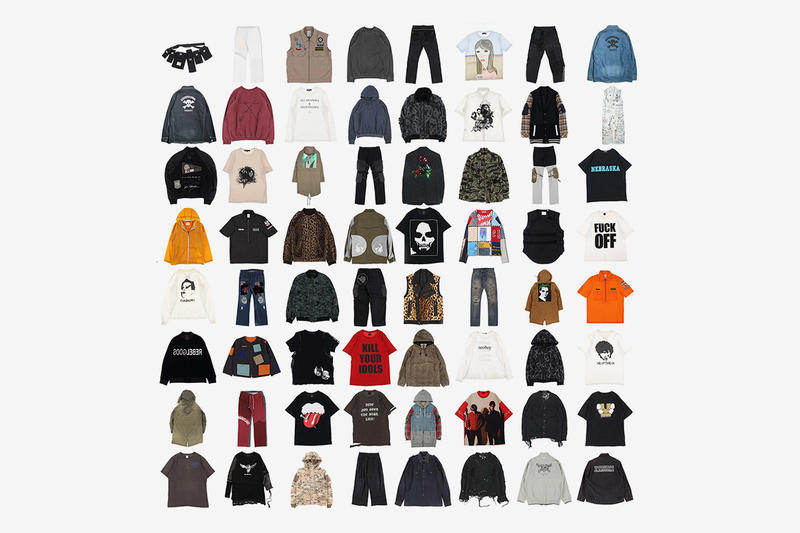 EMPTY ROOM Paris Fashion Week Pop-Up Announcement Archive Grail COMME des GARCONS JUNYA WATANABE MAN  Undercover  Raf Simons  Number Nine Mens 2019