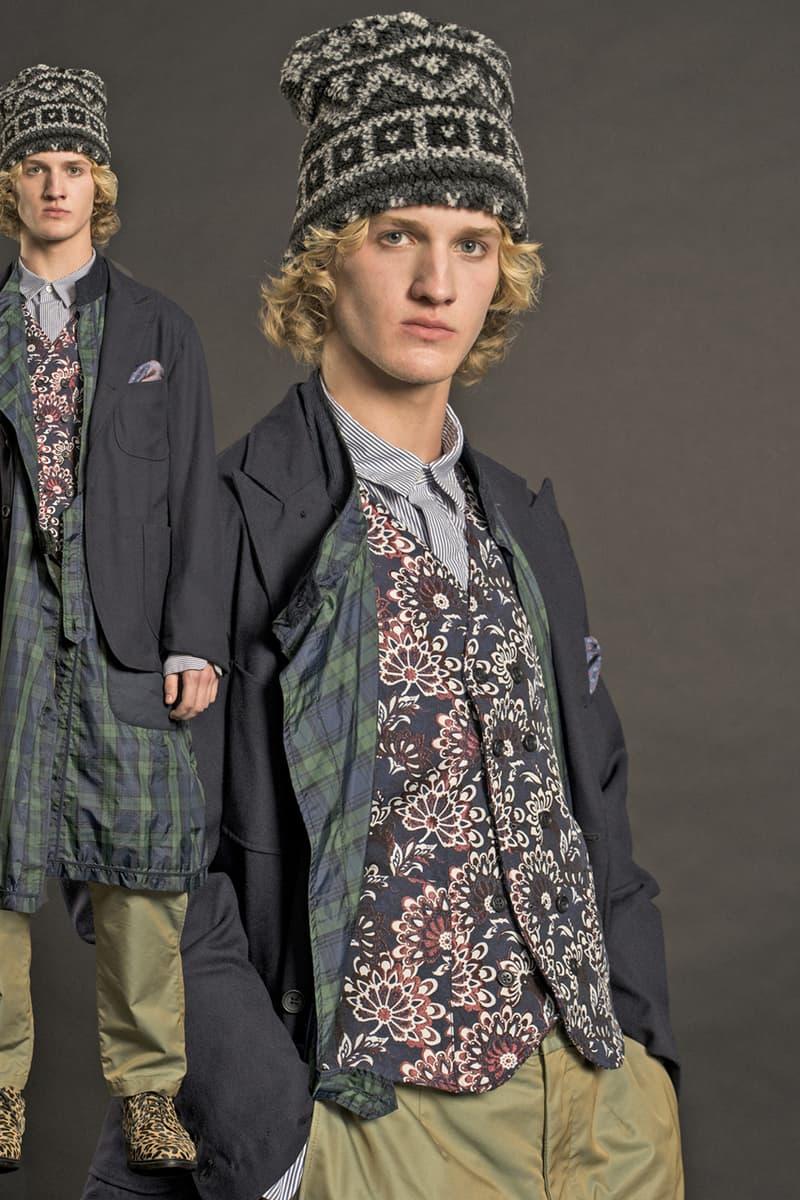 Engineered Garments Fall Winter 2019 Lookbook fw19 collection menswear womenswear fwk