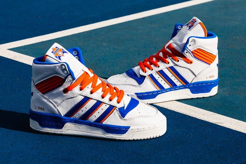 Eric Emanuel x adidas New York Rivalry A Closer Look New York Knicks  basketball NBA Patrick 23eb22f0b