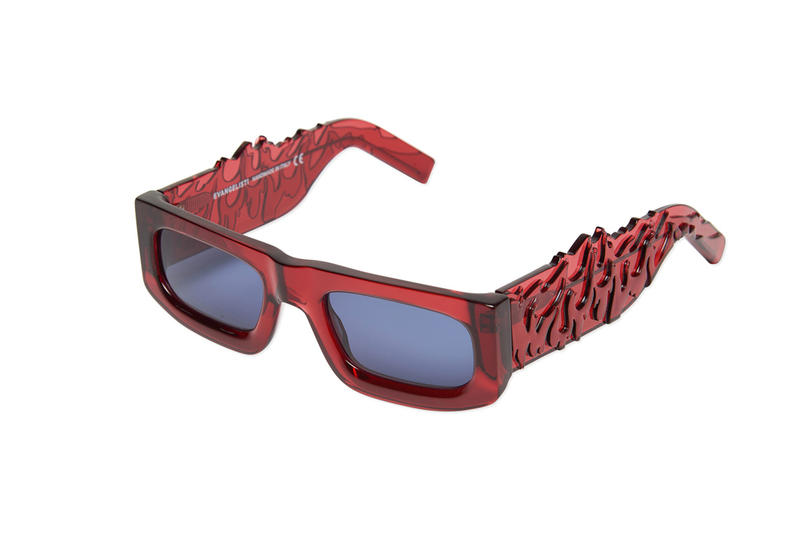 Evangelisti Drop1 Flaming Sunglasses Giulio Milano and Giacomo Beghin