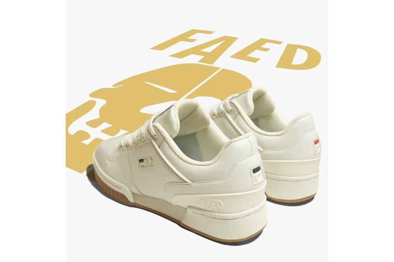 Fila And Faed Limited Edition Targa Shoe Info sneakers fashion targa shoe FindZen app