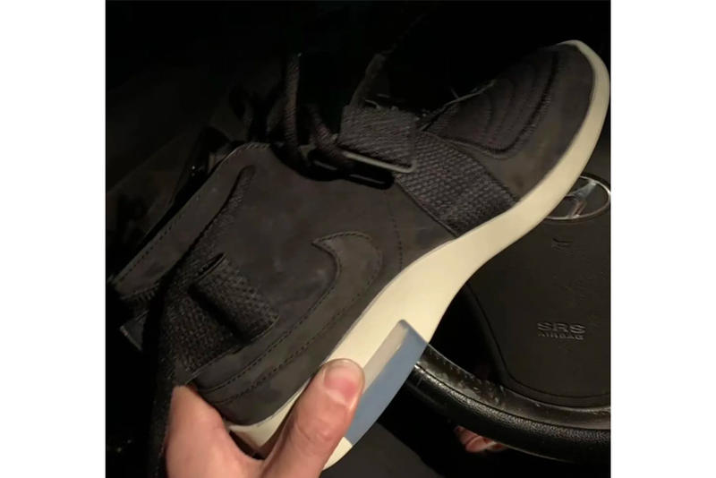 Fear Of God Nike Leak Release Date Info Black Jerry Lorenzo Chukka Moccasin leak sneakers