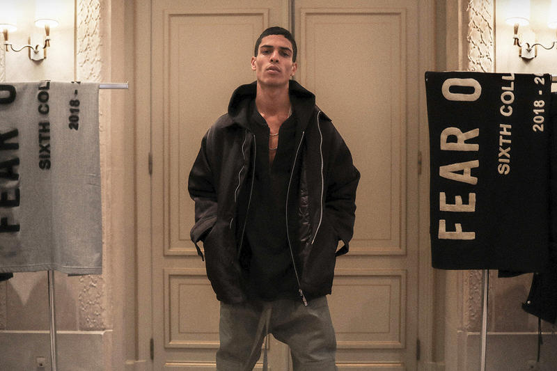 Fear of God Sixth Collection Fall/Winter 2019 Paris Fashion Week Jerry Lorenzo Closer Look Showroom Visit Interview Preview First