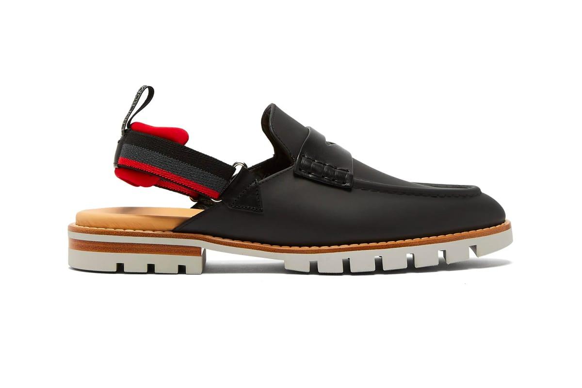 Fendi Leather Loafer Sandals | HYPEBEAST
