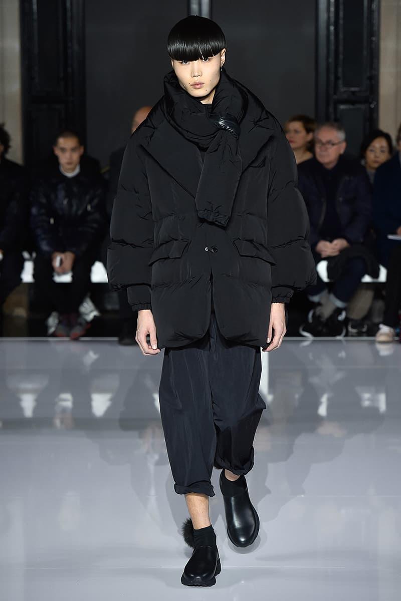 Fumito Ganryu Fall/Winter 2019 Paris Presentation