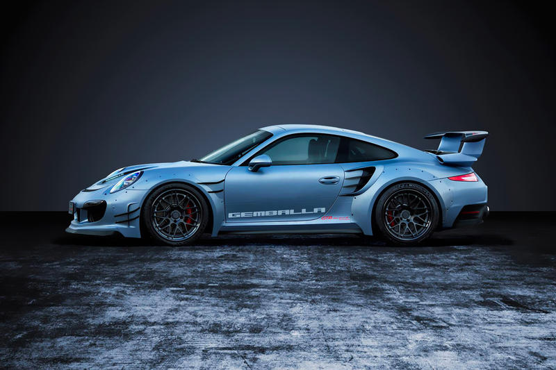 Gemballa GTR 8XX EVO-R Biturbo Package Porsche 991 Turbo Turbo S blue matte high gloss