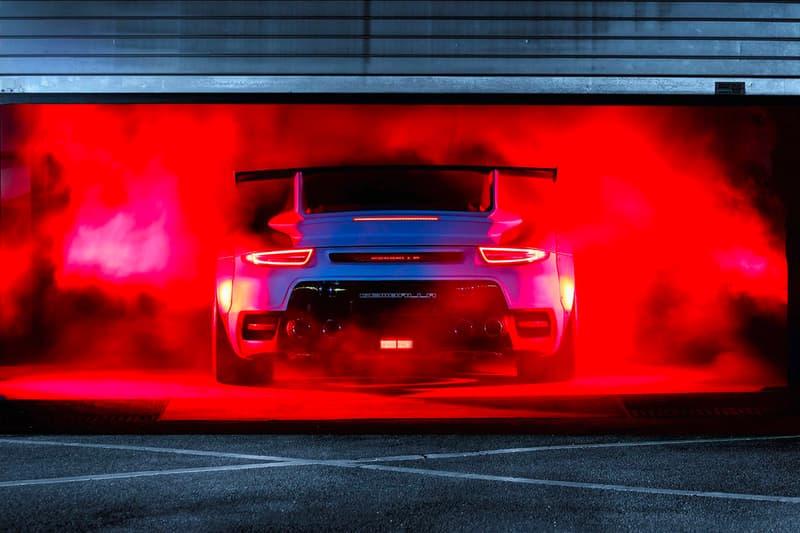 Gemballa GTR 8XX EVO-R Biturbo Package Porsche 991 Turbo Turbo S blue matte high gloss