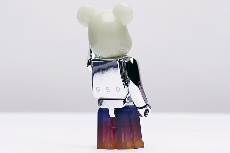 GEO Medicom toy BE@RBRICK 100% 'Series 37' Reflective Glow in The Dark Gradient Toy figure collectible release date info collaboration drop