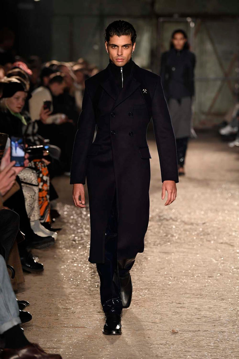GmbH Fall Winter 2019 Collection Paris Runway fashion week mens pfw pfwm rare earth