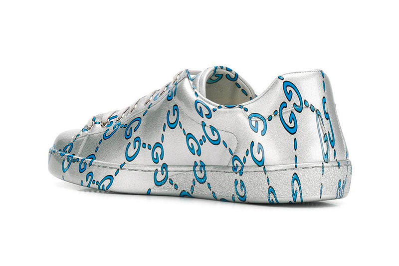 Gucci Ace Sneaker GG Monogram Release Info Date Blue Silver leather the webster