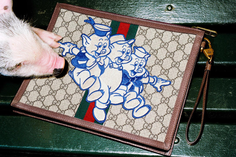 Gucci's CNY Year of the Pig Collection Release Chinese new year lookbooks disney
