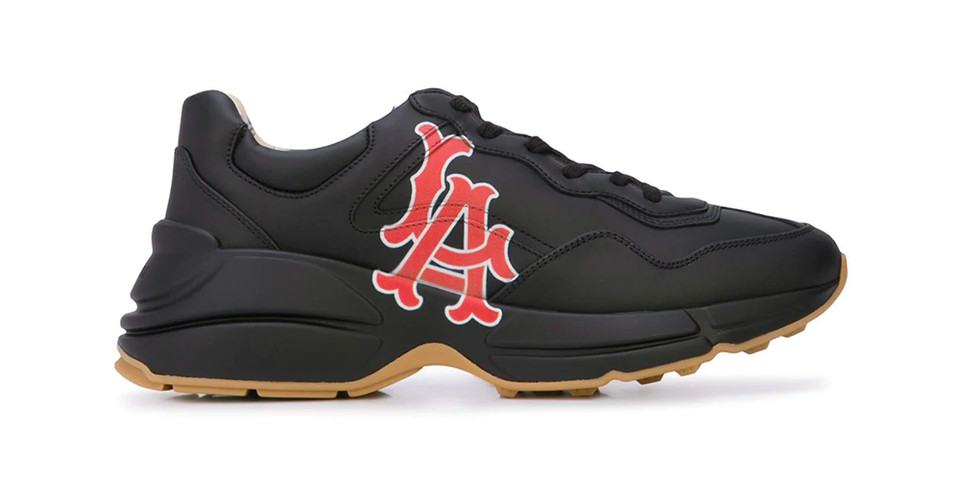3bd29f8082b2 Gucci Los Angeles Angels Sneakers