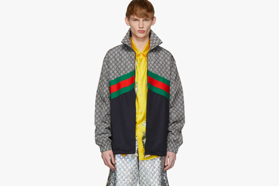 83777ec7 Gucci Multicolor Technical Track Jacket Release | HYPEBEAST